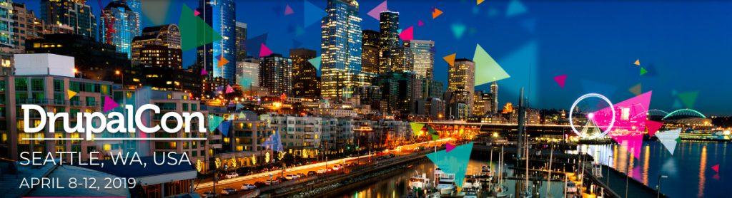 Screen grab of DrupalCon Seattle website banner