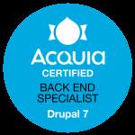 Acquia Certified Backend Specialist Drupal 7