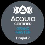 Acquia Certified Drupal 7 Grand Master
