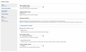 Screen grab demonstrating Clean Markup