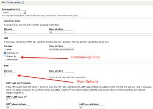 Screen grab demonstrating Semantic View
