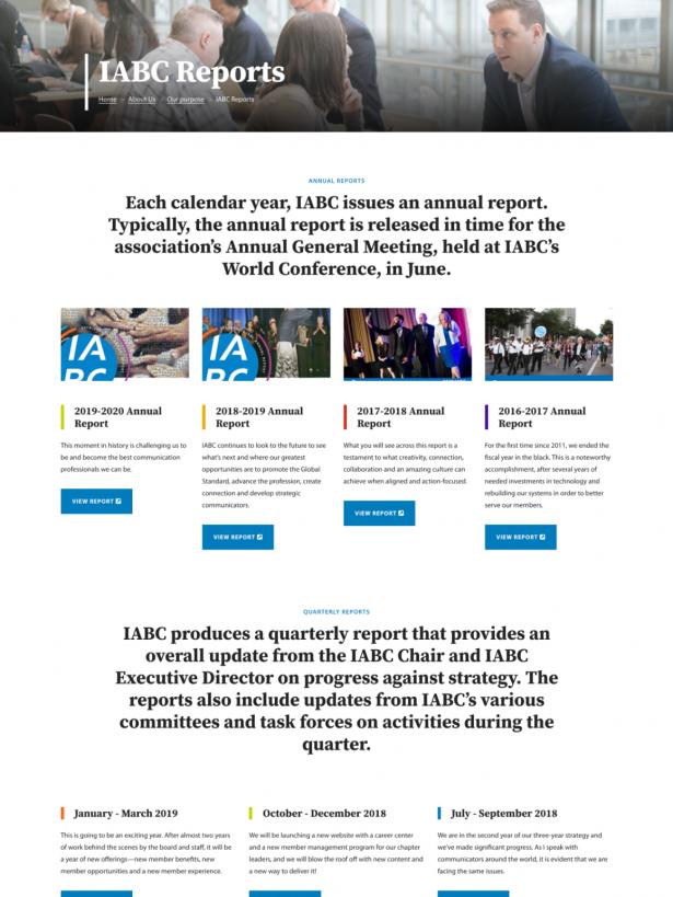 IABC Development