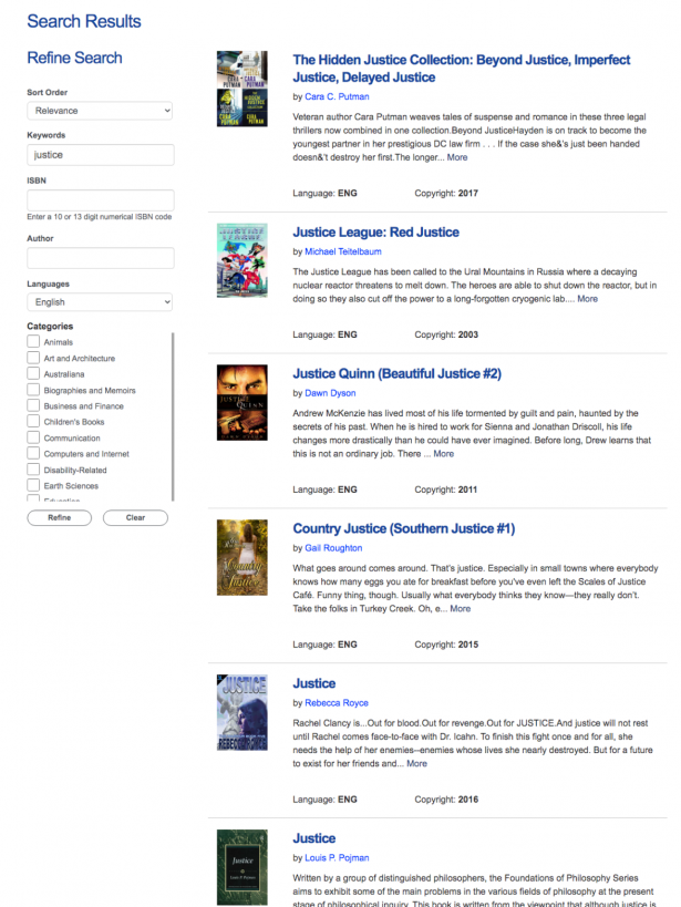 Bookshare Search and Download