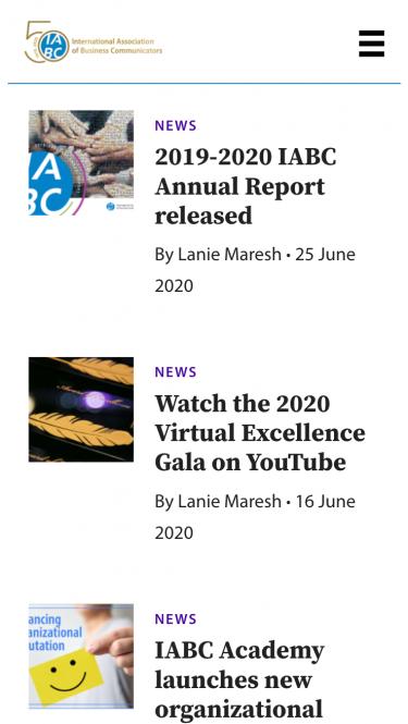 IABC news