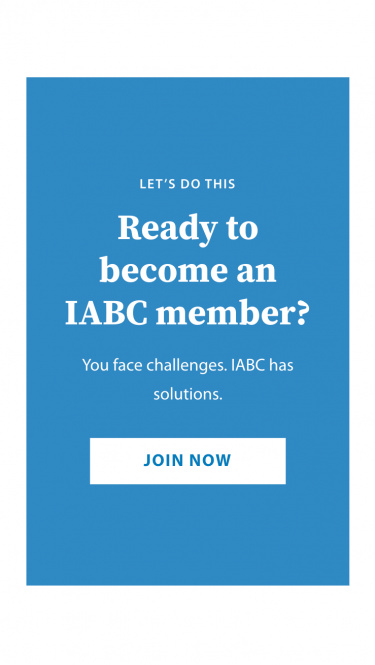 IABC become member