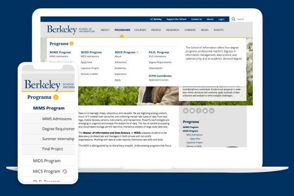 UC Berkeley I School program page