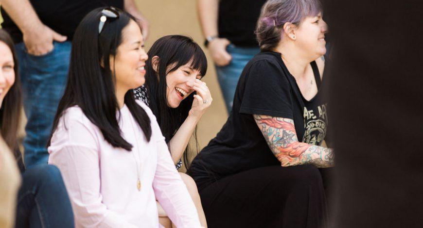 Kanopi staff members laughing