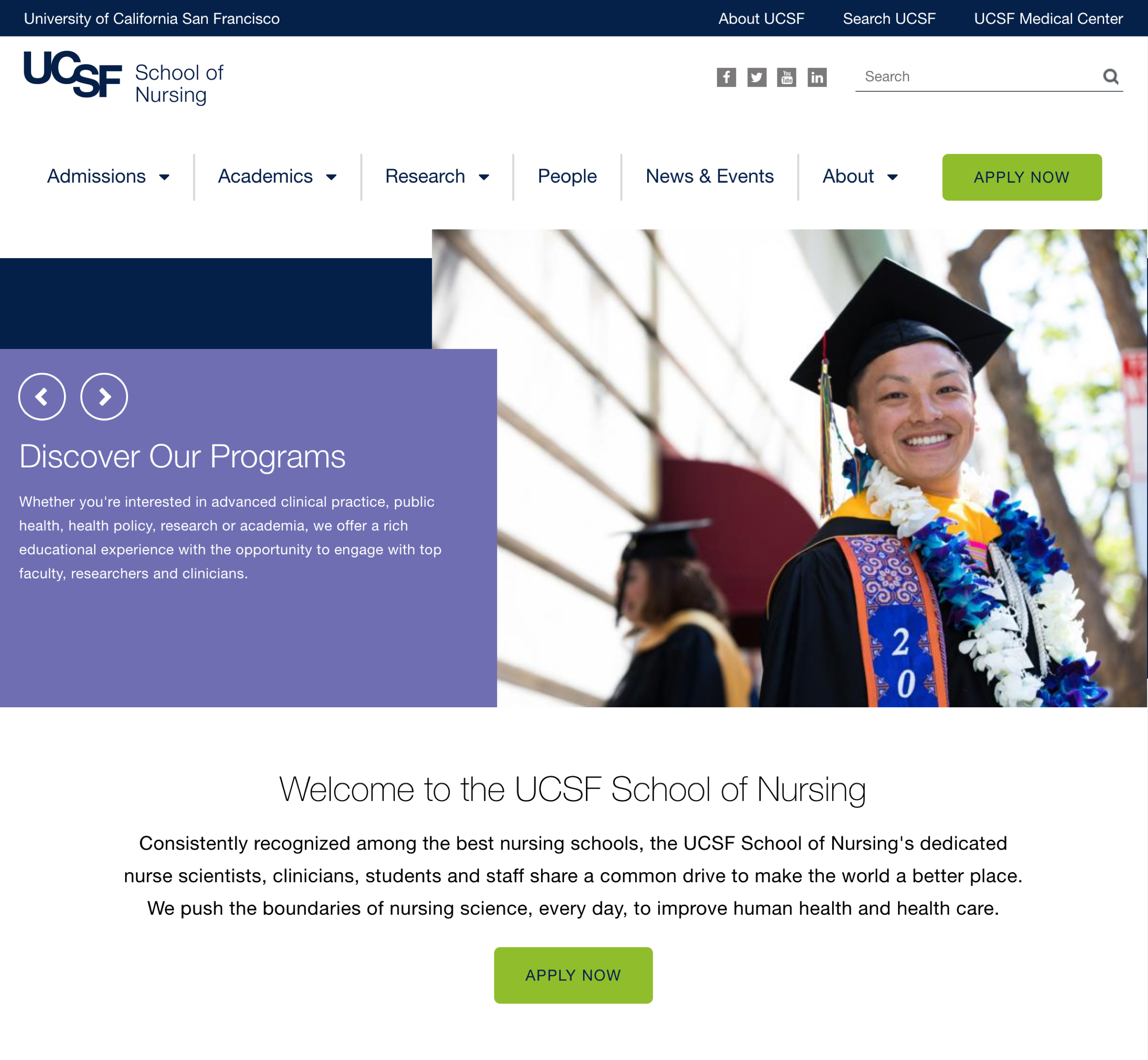 UCSF home page