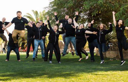 Kanopi Dev Team Jumping