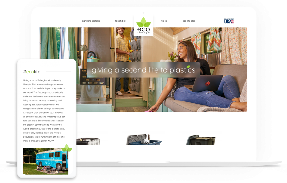 EcoStorage Website