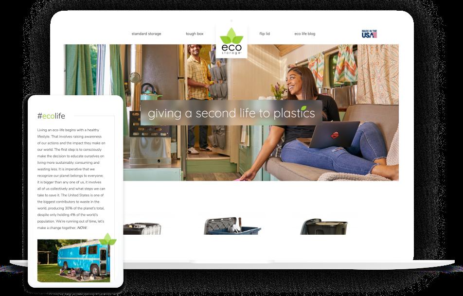 EcoStorage Website