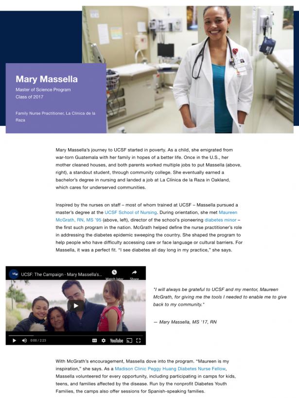 UCSF Nursing Story