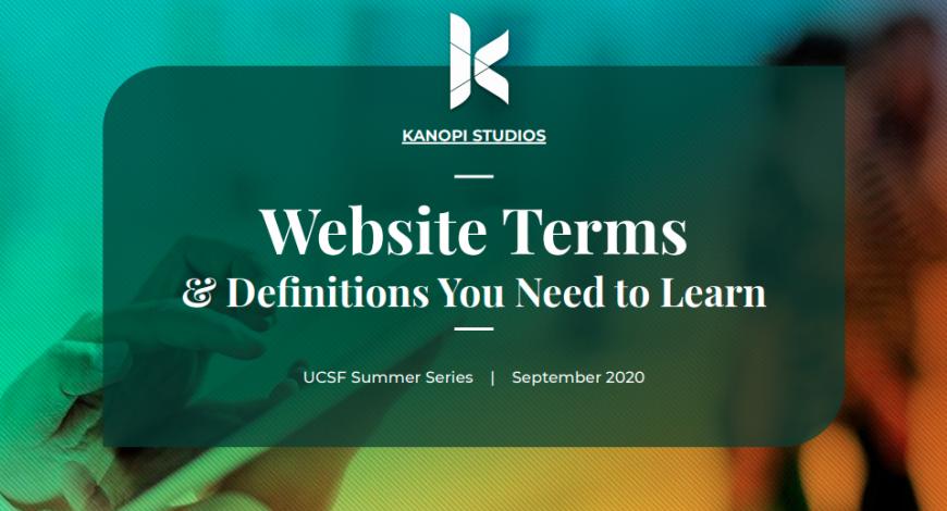 UCSF Webinar from September 16