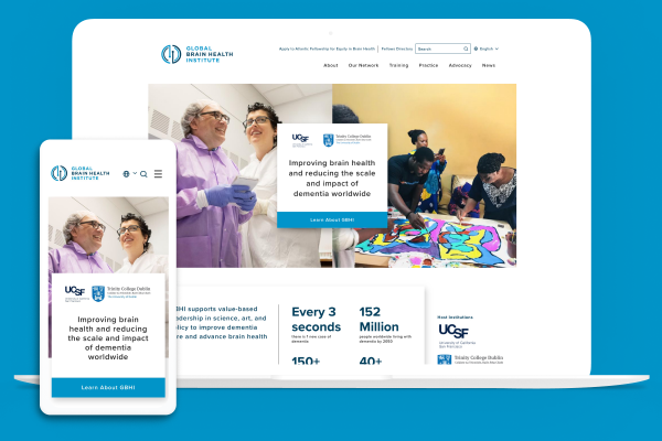 GBHI website on multiple devices