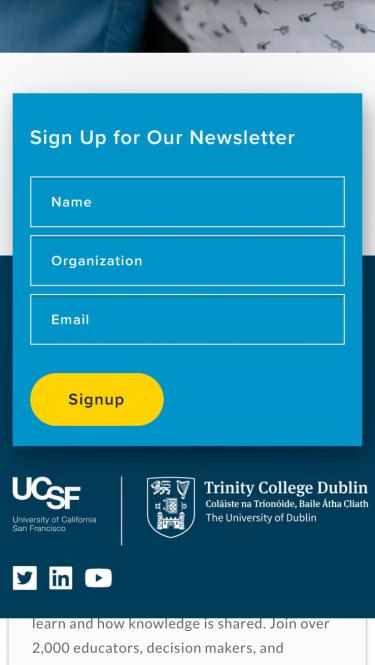 GBHI form on mobile