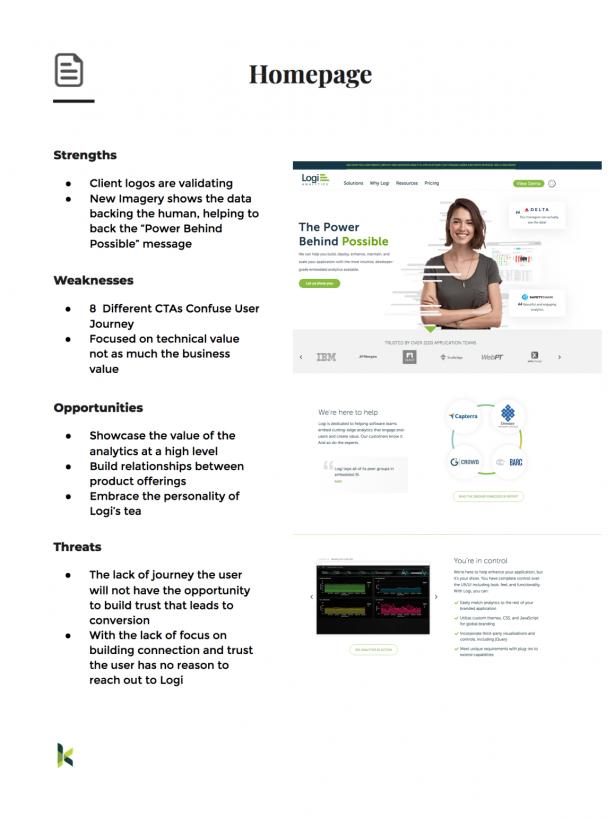 Logi Website Growth Plan