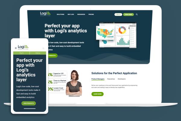 Logi Analytics on multiple devices